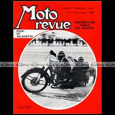 MOTO REVUE N°1579 VELOCETTE 200 LE TEMPERATURE MOTEUR SPEEDWAY BMW 1962