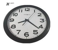 "Howard Miller Kenwick Wall Clock, 13-1/2"" Black Classroom School"