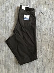 Brax Cooper C Fancy Pants Stretch Brown Size 32 / 32 NWT