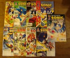 9x SONIC THE HEDGEHOG PROMOS; Archie comics lot SEGA nintendo sony SPAZ Yardley
