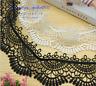 1 Yard, Crochet Lace Trim Ribbon Wedding Applique Dress Decor Sewing Craft FL299