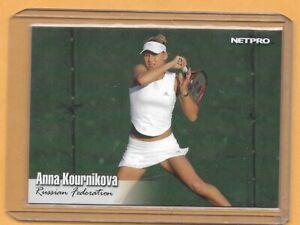 2003 Netpro Anna Kournikova Tennis STAR Card # 10 ROOKIE RC HOT