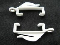 80 CURTAIN HOOKS - FOR CURTAIN HEADER TAPE AND CURTAIN RINGS