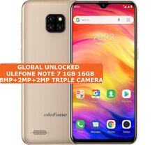 "ULEFONE NOTE 7 16gb Quad Core 8mp Triple Cameras Face Id 6.1"" Android Smartphone"