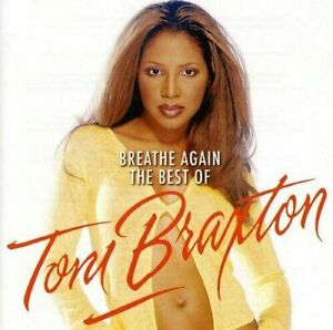 TONI BRAXTON (BREATHE AGAIN - THE BEST OF CD *NEW* + SLIDEPACK FREE POST)