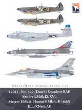 Dutch Decals 1/32 ROYAL AIR FORCE No.322 (DUTCH) SQUADRON
