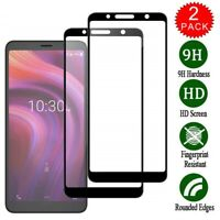 2 x Tempered Glass For Alcatel 3V (2019) 5032W 9 Hardness Clear Screen Protector