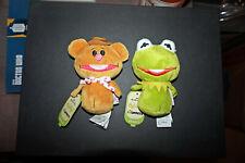 New ListingNew with tags - Hallmark Itty Bittys - Kermit & Fozzie Bear Muppets!