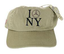 Ahead I Mercedes New York Baseball Hat Cap Desert Tan NWT