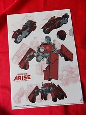Ghost in the shell ARISE A4 SIZE FILE FOLDER (B) / UK DESPATCH