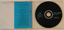 John Lennon 'Lennon Legend' UK 1997 20-Track Advanced Promo For Full CD Album
