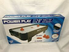 Power Play Table Top Air Hockey Game, 28 Inch- Used See Description