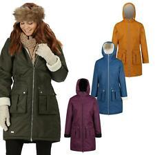 Regatta Womens Romina Waterproof Jacket Ladies Hooded Rain Coat Outdoor