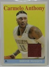 2008-09 Topps 1958-59 Variations Relics Carmelo Anthony