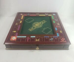 Vintage Franklin Mint Classic Monopoly The Collector's Edition 1991