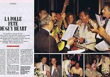 Coupure de presse Clipping 1987 Guy Béart (4 pages)