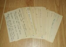 50+ VINTAGE 1950s JAZZ AND COMBO BAND CLUB BOOKING AGENT NOTE CARDS EPHEMERA LOT