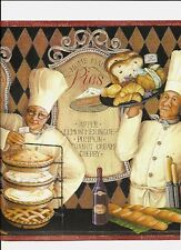 CHEFS COOKING ALL THEIR WARES WALLPAPER BORDER MN5027