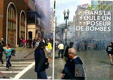 Coupure de presse Clipping 2013 l Attentat de Boston  (8 pages)