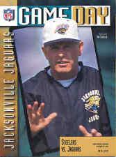 Pittsburgh Steelers Jacksonville Jaguars 10/29/95 NFL Game Program Tom Coughlin