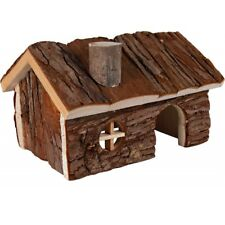 TRIXIE Small Animal Wooden Hamster House HENDRIK Gerbil Mouse Toy 15cm & 20cm