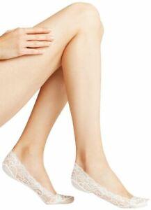 Falke Womens Lace No Show Socks - White