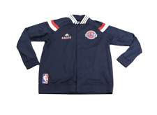 Adidas NBA Detroit Pistons Andre Drummond Game Worn On Court Jacket 3XL Navy