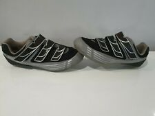 PEARL IZUMI Black Cycling Shoes Mens US 10 UK 8.5 EUR 43 (27.5cm)