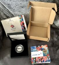 More details for 2021 team gb 50p silver proof piedfort coin 2020 tokyo olympics ltd ed 1500