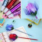 6Pcs Lovely Rose Flower Ballpoint ball Pens Office School Supply Stationery Gift