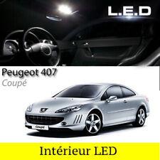 Satz Glühbirnen LED Für Beleuchtung Innenraum Weiß Peugeot 407 Coupé