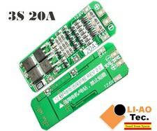 3S 20A 12.6V Li-ion Lithium 18650 BMS PCM Battery Protection Board