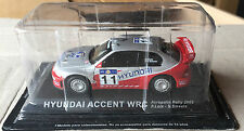 """DIE CAST """" HYUNDAI ACCENT WRC ACROPOLIS RALLY 2003 """" RALLY DEA SCALA 1/43"""