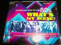 Australian Pop Of The 80s Volume 3: What's My Scene (Australia) 2 CD – Like New