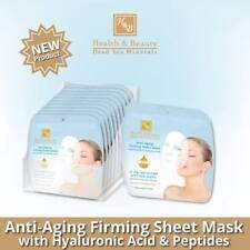 Anti Aging Firming Sheet Facial Mask Peptides Hyaluronic Acid H&B DEAD SEA -18ml