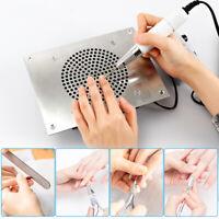 4000RPM Nail Art Dust Suction Collector Desktop Built-in Manicure Vacuum Cleaner