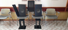 CASSE ACUSTICHE   AUDIO NOTE MOD. AN J/D1213/1214 WALNUT WITH STANDS