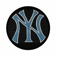 Blue New York Yankees NY Logo Sew on Woven Badge Applique Patch