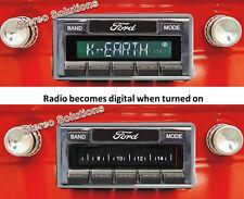 1964-65 Ford Falcon NEW USA-630 II* 300 watt AM FM Stereo Radio iPod, USB, Aux