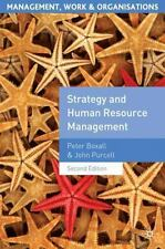 Strategy and Human Resource Management (Management, Work and-ExLibrary