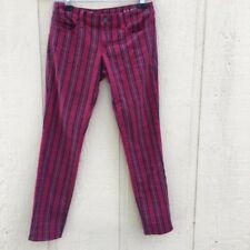 Women's Plaid Punk Rocker Skinny Jeans Gap size 30