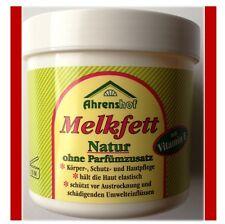 Melkfett natur 250 ml Ahrenshof Körper Schutz Hautpflege