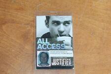 Justin Timberlake - Laminated Backstage Pass - Lot # 4 - Free Postage -