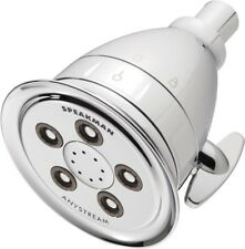 4 in. Fixed Shower Head Filtered 3-Spray, Internal Filtering Cartridge, Chrome