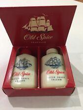 Vintage Old Spice No 3365 Traveler Set in Original Box