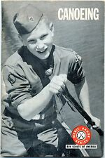 CANOEING MERIT BADGE SERIES BOY SCOUTS OF AMERICA PB COND: VG ILLUSTRATED
