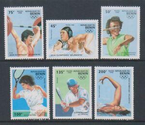 Benin - 1995, Olympic Games, Atlanta, 1st series set - MNH - SG 1278/83