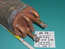 Lamellentauscher aus Kupfer Nr. 74   Destille Kühlspirale Teichheizer Solar