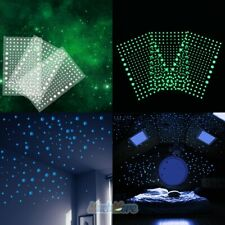 606pcs Realistic 3D Domed Stars Glow in the Dark Kids Bedroom Ceiling Starry Sky