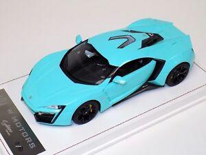 1/18  W Motors Lykan Hybersport in Tiffany Blue